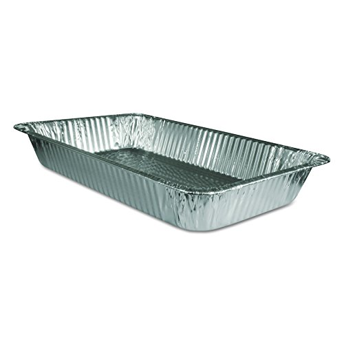 - Handi-Foil of America 20190050U Steam Table Aluminum Pan, Full-Size, 3 3/16