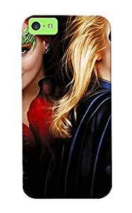 Elizabethshelly Series Skin Case Cover Ikey Case For Iphone 5c(ivy Batgirl Batman And Robin Movies Women Females Girls Blondes Redheads Face Babes )