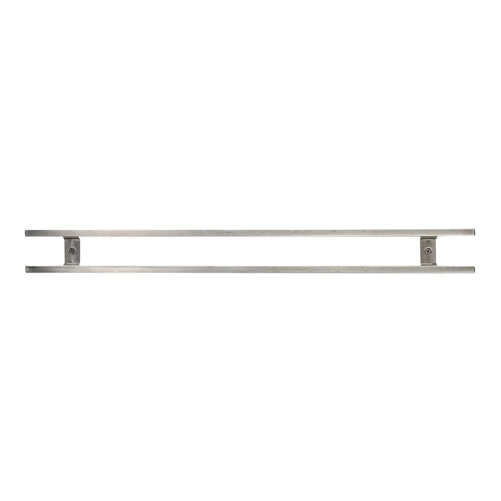 Mercer Culinary 24'' Magnetic Knife Bar with 6 S Hooks, 24 Inch x 2.4 Inch x .9 Inch, Stainless Steel by Mercer Culinary