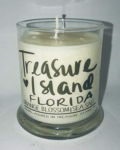 Treasure Island Florida Candle Florida Home Candle- Soy Candle- Sunshine State (Florida Landscape Seminoles State)