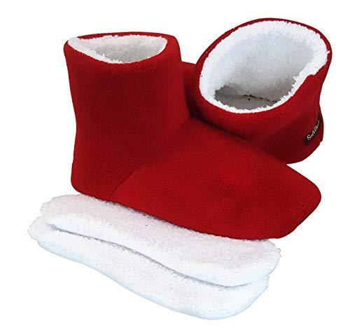 Cozy Microwaveable Heated Booties - Choice of Colors