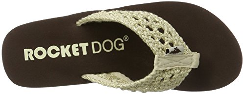 Beige Natural Stapleton para Mujer Chanclas Natural Aviara Dog Stapleton Rocket 4Y71qX0n