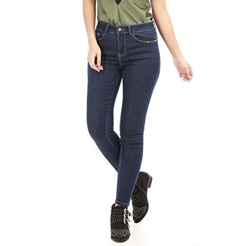Slim La Apparentes Modeuse Coupe Jean avec res Bleu surpiq A1SqP61WR