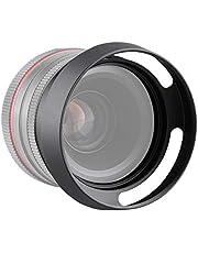 Goshyda Universellt kameraobjektivlock, 39 mm, 43 mm, 52 mm, 58 mm ihålig kamera solskydd i aluminiumlegering (43 mm)
