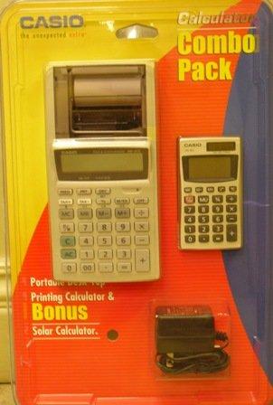 Casio calculadora Combo Pack hr-8teplus impresión calculadora & hs ...