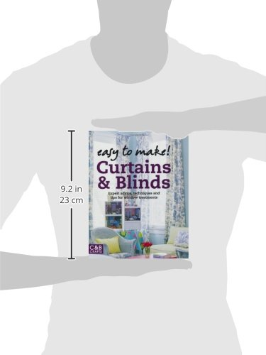 curtains u0026 blinds expert advice techniques and tips for window treatments wendy baker amazoncom books