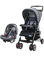 Baby stroller with the possibility of changing the levels of the seat