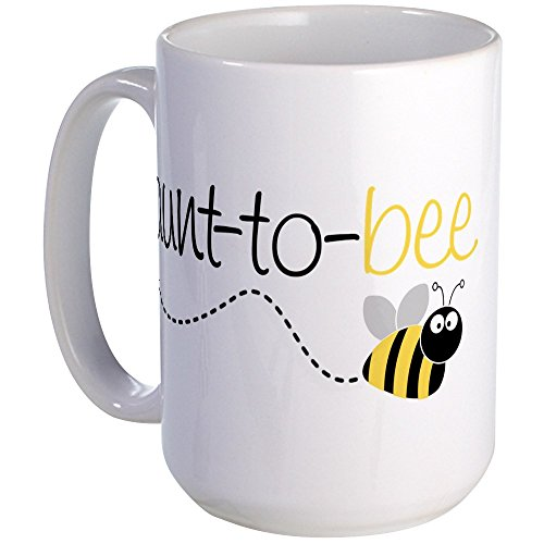 CafePress aunt Large Coffee White