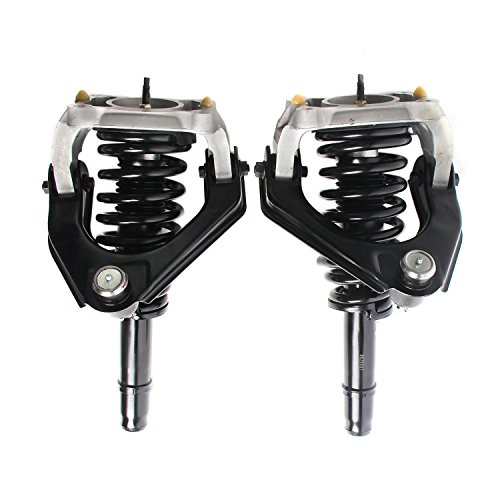 MOTORMAN Front Left & Right Complete Strut and Coil Spring Assembly 11651 & 11652 for 1999 2000 Chrysler Cirrus 1999 2000 2001 2002 2003 2004 2005 2006 Sebring Dodge Stratus 1999 Plymouth Breeze ()