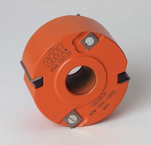 (CMT 694.100.31 Rabbeting Cutter Head, 4-Inch Diameter, 1-1/4-Inch Bore)