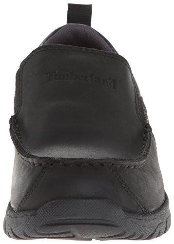 Timberland Discovery Pass Moc Toe Moc Toe Slip-On (Toddler/Little Kid/Big Kid),Black,1 M US Little Kid