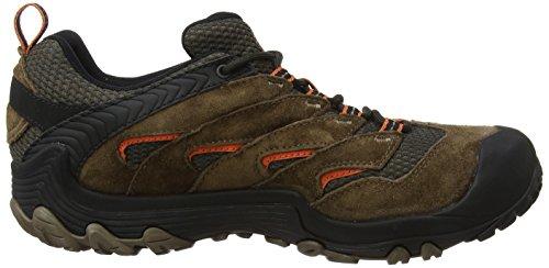 Merrell Uomini Cham 7 Limite Wtpf Trekking- E Scarpe Da Trekking Marrone (merrell Pietra)