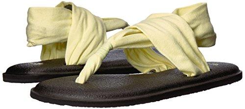 Femme Yoga Pear Tongs Prints Sanuk Yellow 2 Sling X6nSd44P