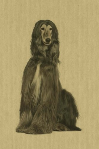 Afghan Hound: Renaissance Dogs:  Journal/Notebook/Diary (Volume 23)