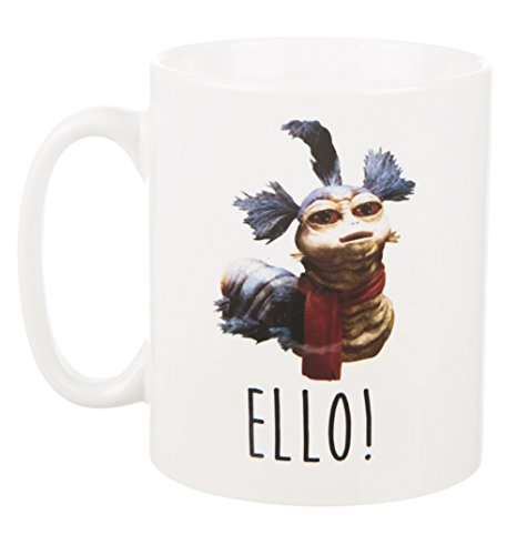 Labyrinth Worm Cup Of Tea Boxed Mug