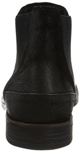 camel active Herren Check 13 Chelsea Boots Schwarz (Black)