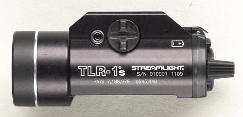 080926692107 - Streamlight 69210 TLR-1s LED Rail Mounted Flashlight with Strobe Function and Rail Locating Keys carousel main 1