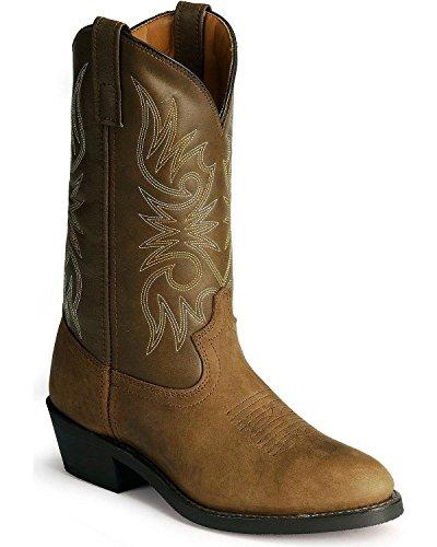 (Laredo Men's Cowboy Work Boot Distressed 9 EE US)