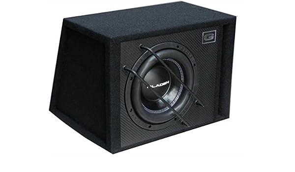 Gladen SQX 10-VB - 25 cm caja de subwoofer Bass Reflex: Amazon.es: Electrónica