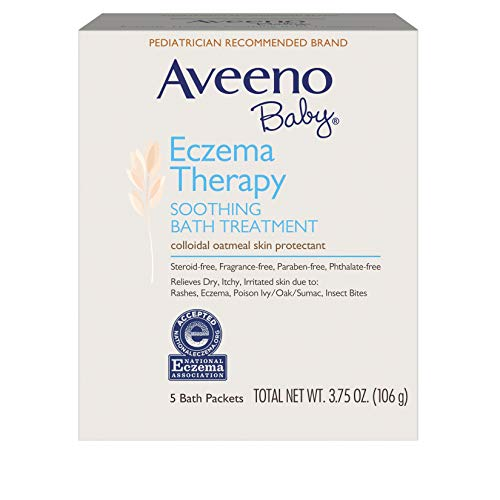 Aveeno Soothing Baby Bath Treatment, Single Use Packets - 5