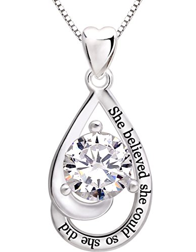 alov-jewelry-sterling-silver-she-believed-she-could-so-she-did-cubic-zirconia-pendant-necklace