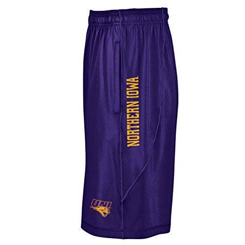 Under Armour NCAA Northern Iowa Panthers Men's Raid Shorts, Medium, Purple (Armour Panthers Under)