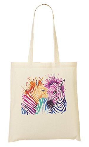 Print Sac Tout Sac Colourful Zebra CP Provisions Fourre À xqwp4WY