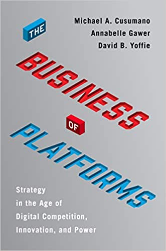 foto de Amazon.com: The Business of Platforms: Strategy in the Age of ...