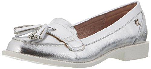 Refresh WoMen 63258 Closed Toe Ballet Flats Silver (Plata 129)