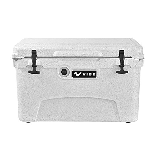 Vibe Kayaks Vibe Element 45Q Cooler with Bottle Opener, Alpine Gray (Smart Vibe Parts)
