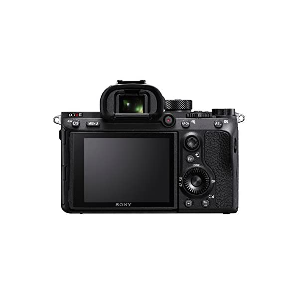 RetinaPix Sony Alpha ILCE-7RM3 Full-Frame 42.4MP Mirrorless Camera Body (4K Full Frame, Real-Time Eye Auto Focus, Real time Animal Eye AF, Tiltable LCD) - Black