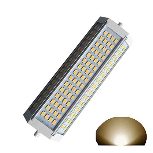 R7S Led Light 50W Dimmable Bulb 189mm Halogen Replacement 400W 500W 750W J Type 3000K Warm Light 4900LM Flood Light 120v Lamp (3000k, Warm Light,50w) ()