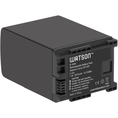 Watson BP-828 Lithium-Ion Battery Pack (7.4V, 2670mAh) (4 Pack) by Watson