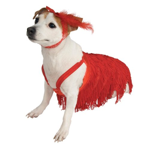 Rubie's Pet Costume, Medium, Flapper Dress