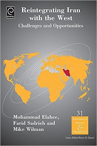 Vapaa kirja tallentaa latauksia Reintegrating Iran with the West: Challenges and Opportunities: 31 (International Business & Management) Suomeksi
