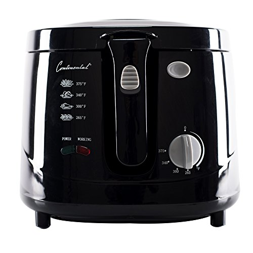 Continental Electric 2-1/2-Liter Cool Touch Deep Fryer image