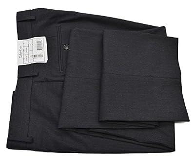 Calvin Klein Mens Slim Fit Pindot Dress Pants