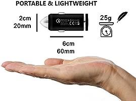 USB Type C QC3 Cargador rápido Cargador de coche y Cable de ...