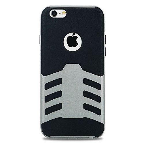 Sleek Tech Armor Case for iPhone 6/6s (Silver) - 8