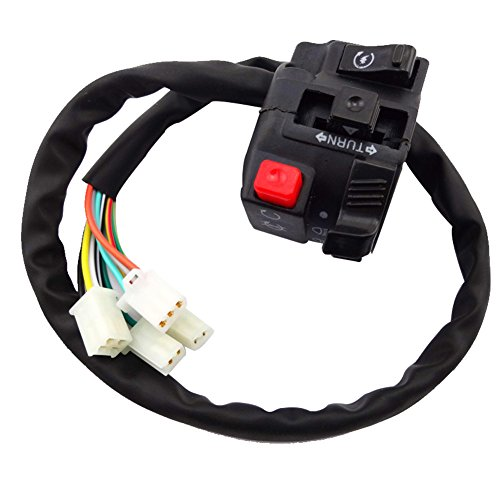 Handle Assembly Switch (TC-Motor 11 Wire 4 Function ATV Handle Switch Control Assembly Assy For Quad 4 Wheeler 50cc 70cc 90cc 110cc 125cc 140cc 150cc 200cc 250cc)