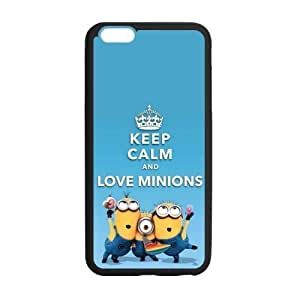 Hoomin Keep Calm and Love Minions Despicable Me iPhone 6plus 5.5 Kimberly Kurzendoerfer