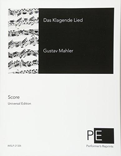 Das Klagende Lied  [Mahler, Gustav] (Tapa Blanda)