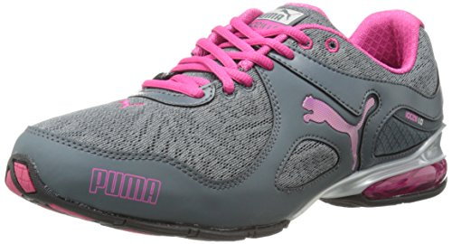 PUMA Womens Cell Riaze Foil Training Shoe Turbulence/Beetroot Purple