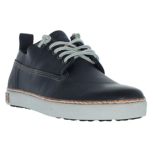 Blackstone Otto Leather Lace-up Indigo
