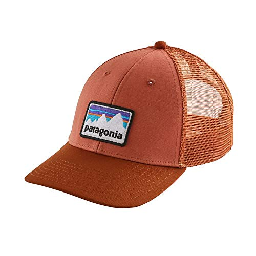 Patagonia Shop Sticker Patch Lopro Trucker Gorra de Pesca, Hombre, Forge Grey, Talla Única: Amazon.es: Deportes y aire libre