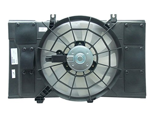 Automotive Cooling Brand Radiator And Condenser Fan For Dodge Neon Plymouth Neon CH3115107 100% Tested ()