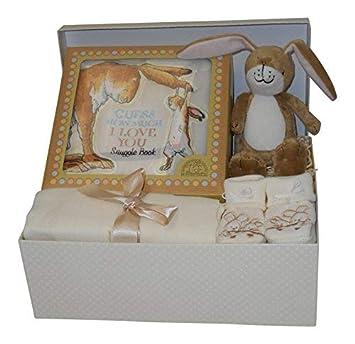 Baby Shower 4Pcs Gift Set Hamper//Box for Boys /& Girls