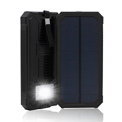 Amazon.com: QueenAcc 15000mAh Solar Charger, Solar Power ...