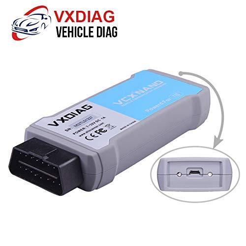 (US Warehouse - Original VXDIAG VCX NANO WIFI for T-OYOTA TIS Techstream Version 10.10.018 Compatible with SAE J2534)