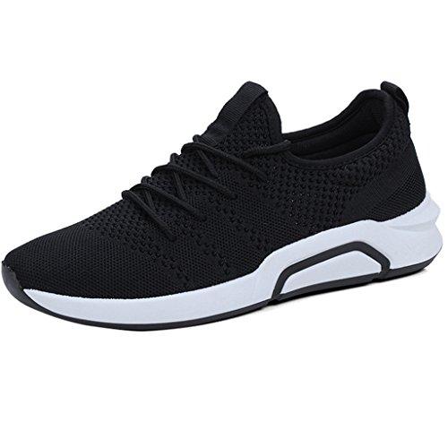 scarpe YaNanHome uomo da 43 Espadrillas coreana tendenza scarpe uomo scarpe Size Black di da uomo sport da casual da Color basse Estate Scarpe tela Black scarpe selvatici rIwIxnqzt4